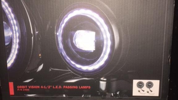 "KURYAKYN ORBIT VISION 4 1/2"" LED PASSING LAMPS"