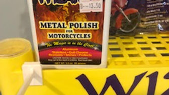 MOTORCYCLE METAL POLISH
