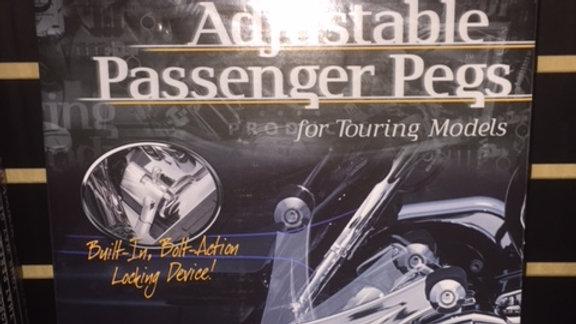 KURYAKYN ADJ PASS PEGS SM ISO '10-UP TOURING