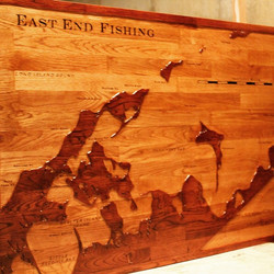 East End Fishing Map #Christmas2014Serie