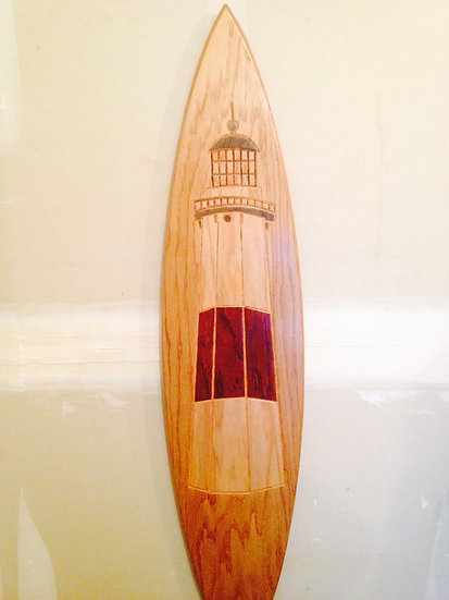 Montauk Lighthouse Surfboard