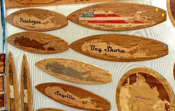Long Island Town Surfboard (Natural)