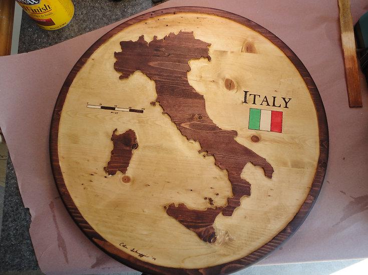 Italy Medium 2 ft. (R&G)