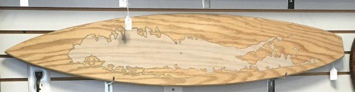 Long Island Surfboard (Sunbleached)