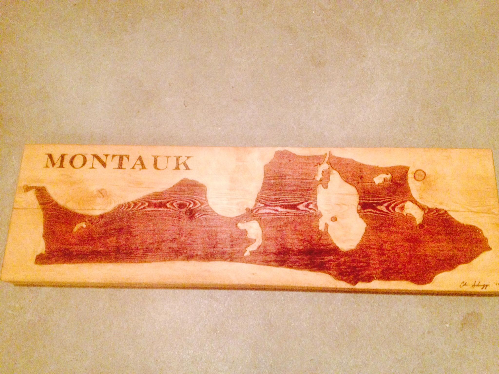 Montauk Plank Carving