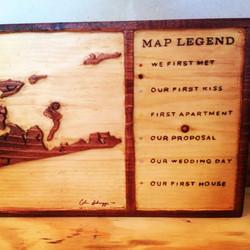 Custom Long Island Original Plank Carvin
