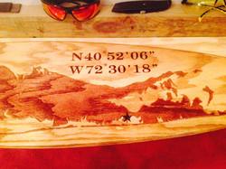 Long Island Original Surfboard Decor