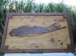 Original Long Island Map Table