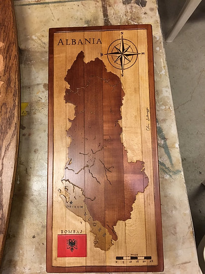 Albania Med. 2 1/2ft.