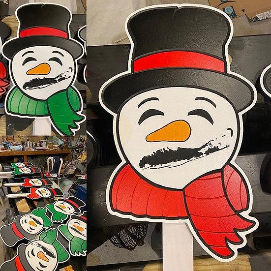Long Island Snowman
