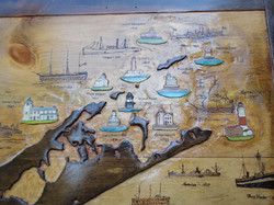 East End Lighthouses & Shipwrecks