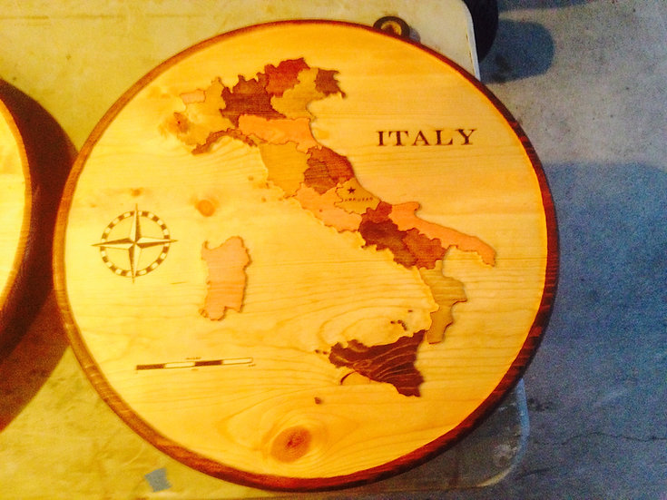 Italy (Stain Shades) Med 2ft.