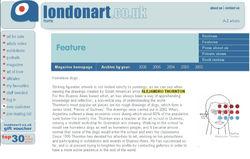 London Art Magazine. UK, 2006.