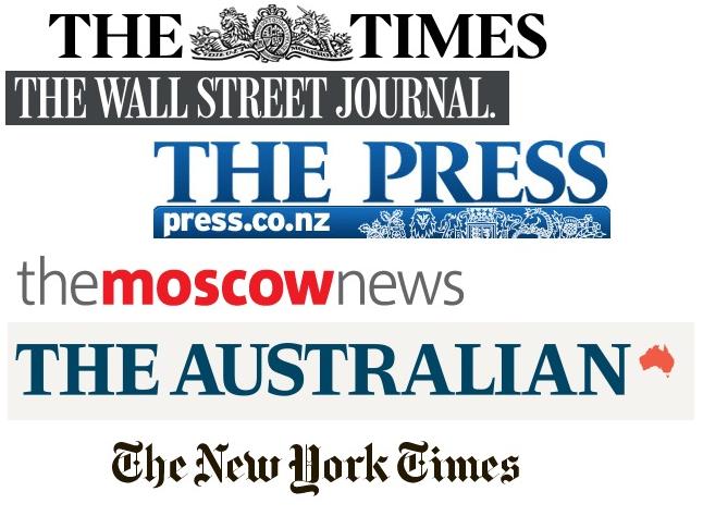 Journals and articles. Перевод и анализ газетных статей