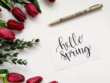 Ein optimistischer Tag -Frühlingsanfang-