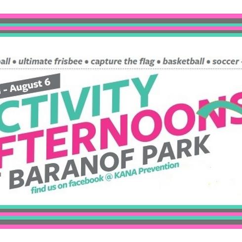 Activity Afternoons at Baranof Park
