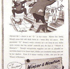 """No """"D"""" in Winsor and Newton"""