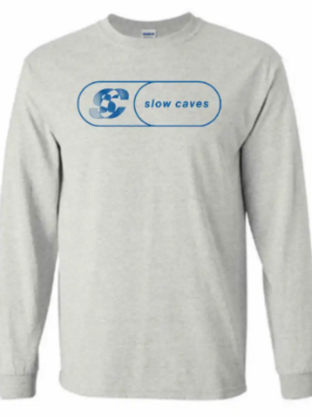 Slow Caves Long Sleeve Racer Shirt
