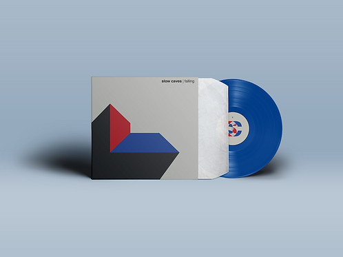 """Falling"" Limited Edition Blue Vinyl"