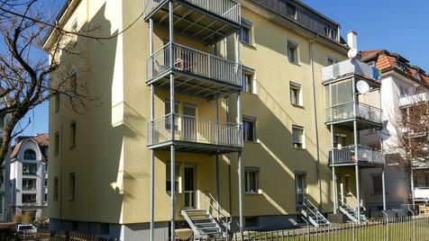Saniertes Mehrfamilienhaus in St. Gallen