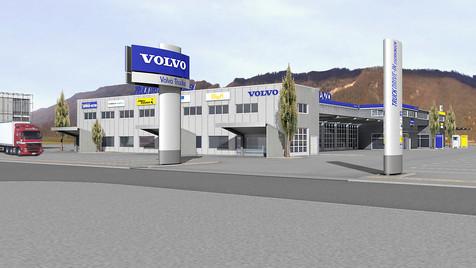 Volvo Center in Egerkingen 1