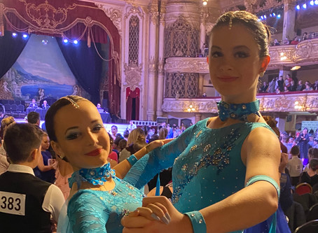 Dancesport Scotland Bowhouse Under 21 competition day preparations