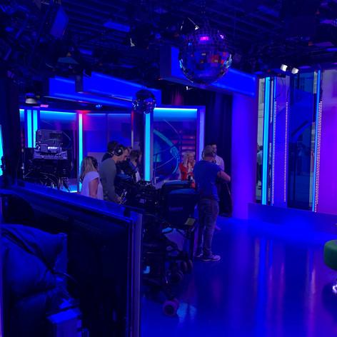 Noah & Isla begin rehearsals in the studio