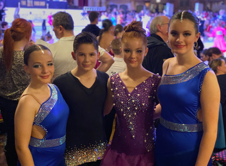 BallroomJuniors represent Scotland in the All England Championships at Tower Ballroom