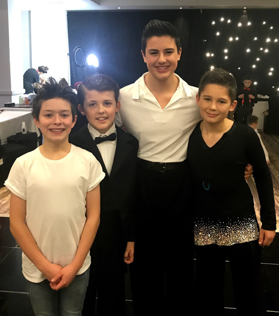 Lewis, Max Noah and Finlay