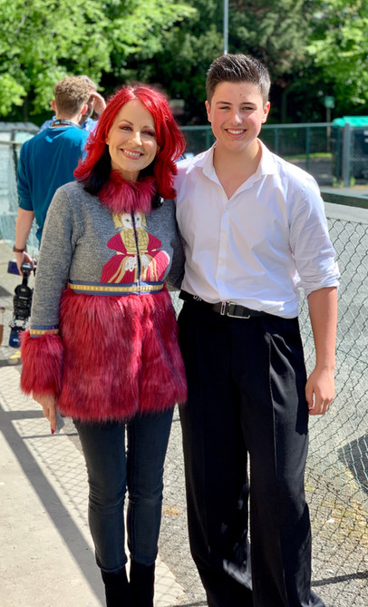 Noah and BBC presenter Carrie