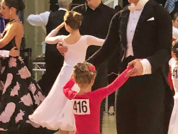 Adult and child dancing is another very popular part of competition day, and great to watch
