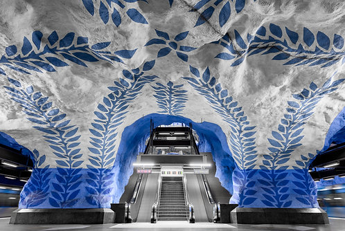 T-Centralen - 50x70cm - Fine Art Print