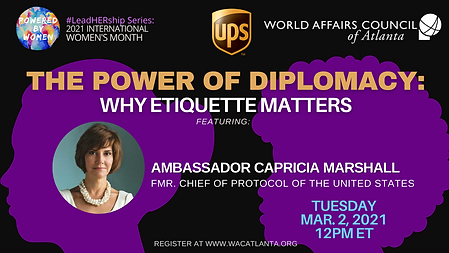 The Power of Diplomacy feat. Amb. Capric