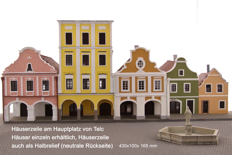 Häuserzeile Telc