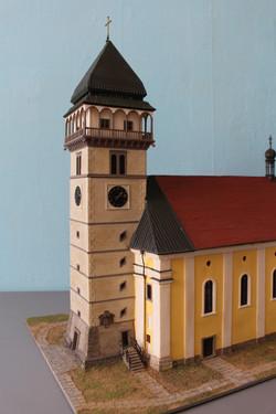 Detail Kirchturm