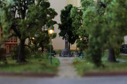 Abendlicher Park