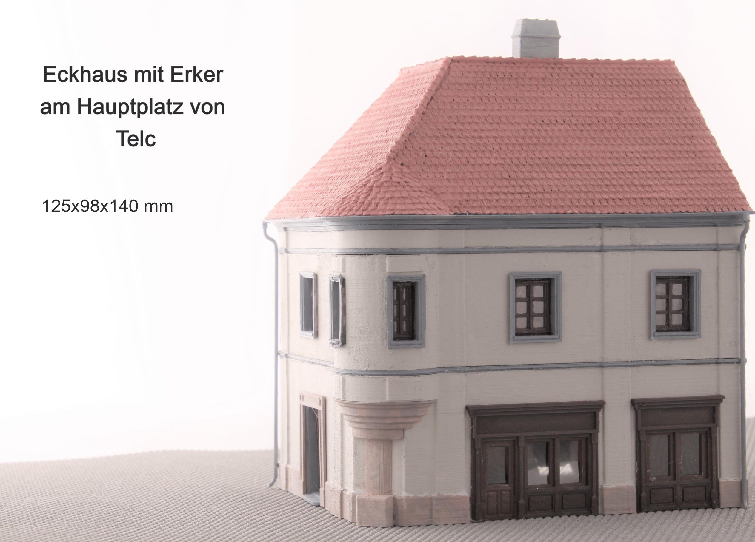 Eckhaus mit Erker