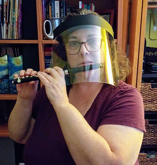 Emily with face shield and piccolo.jpg