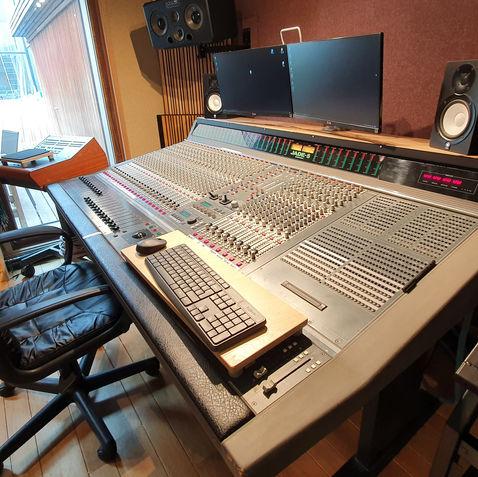 Voor het Digico werd, maakte Soundtracs dit analoog flaggeschip: Jade+ inline console