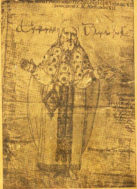 არქიმანდრიტი ნიკოლოზ ჩოლოყაშვილი, პირველი ქართული სტამბის დამაარსებელი