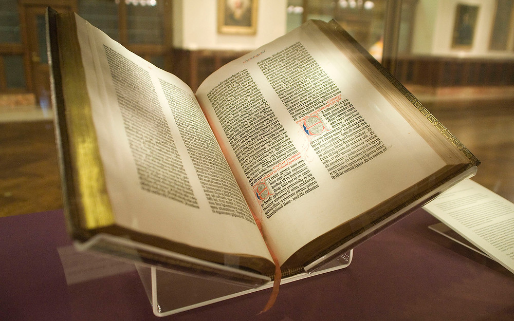 გუთენბერგის ბიბლია, მაზარინის ბიბლია