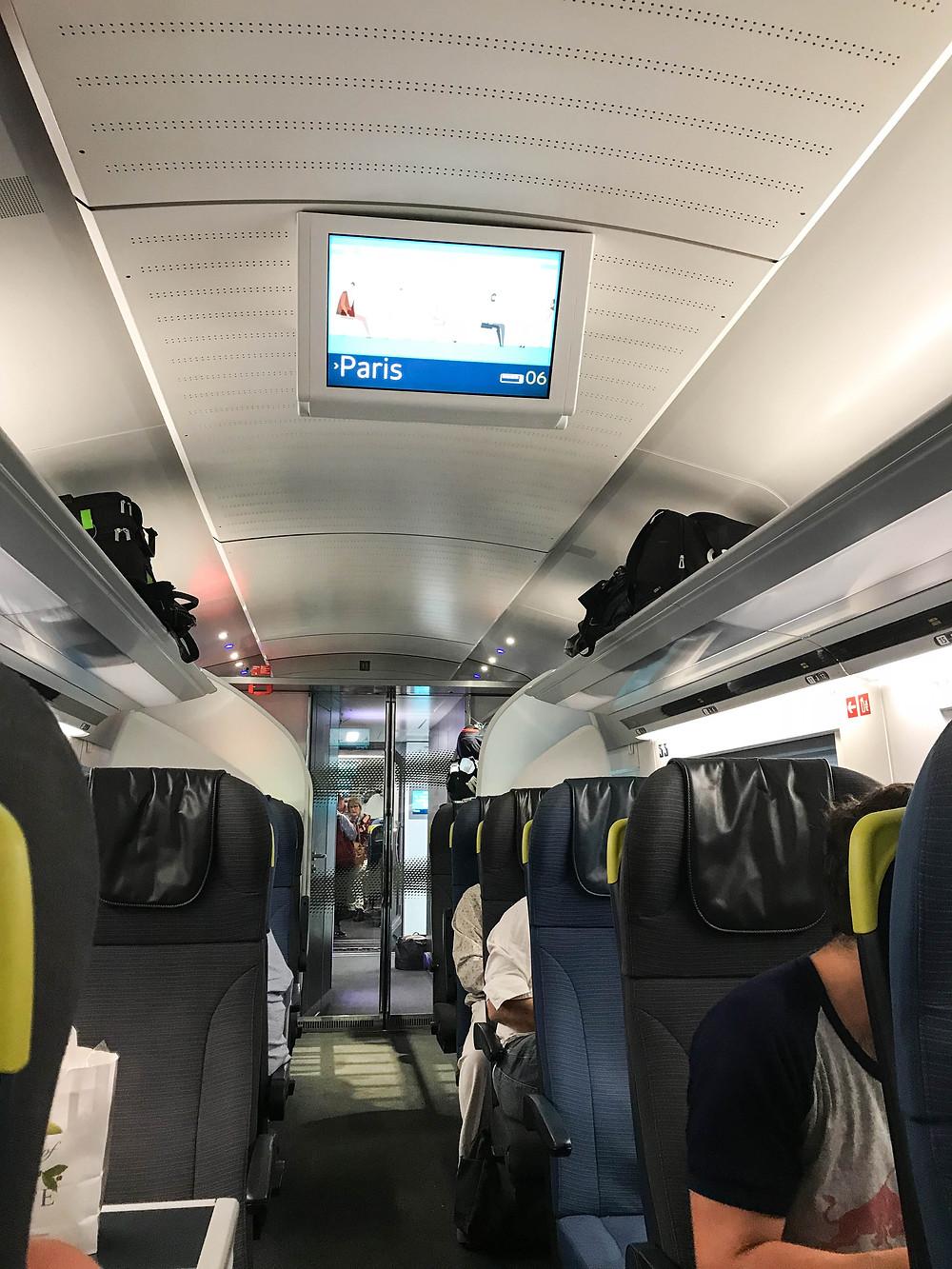 Eurostar Train from London to Paris