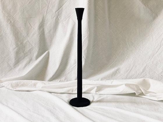 Candelabro alto negro 1 vela