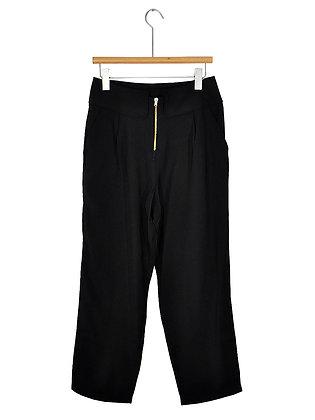 Pantalón negro cierre argolla