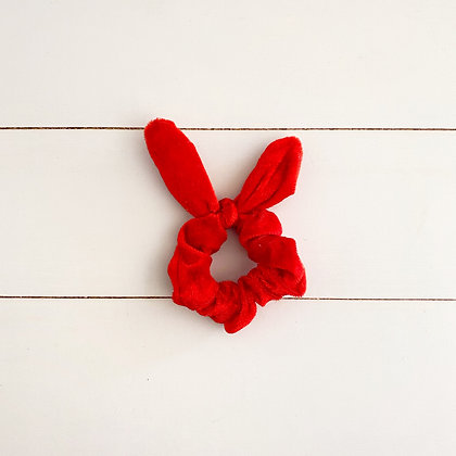 Colet conejo felpa rojo