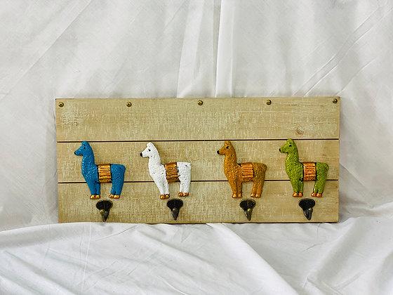 Perchero alpacas
