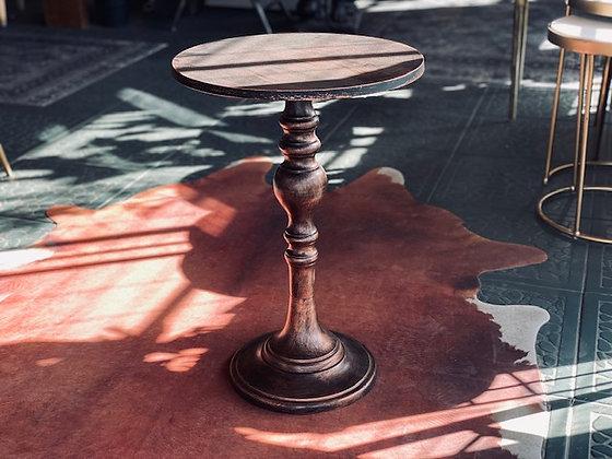 Mesa desgastada cobre
