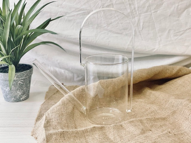 Regadera vidrio