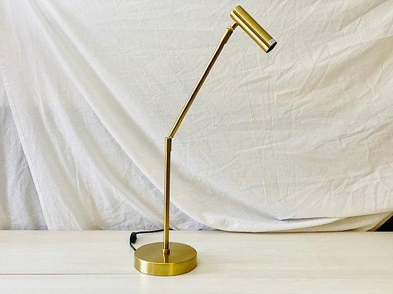 Lámpara Bronce mesa Brazo móvil
