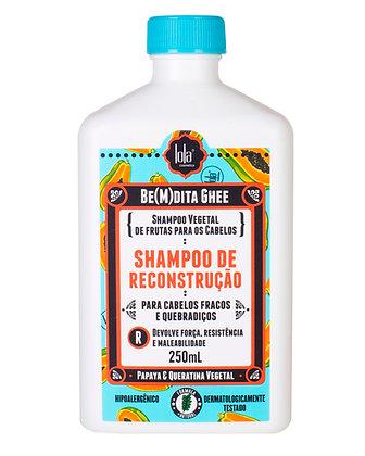 Be(M)dita Ghee Shampoo Reconstrucción papaya y queratina vegetal